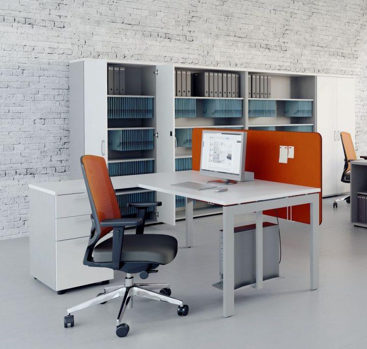 Schreibtisch mit Container OGI_U