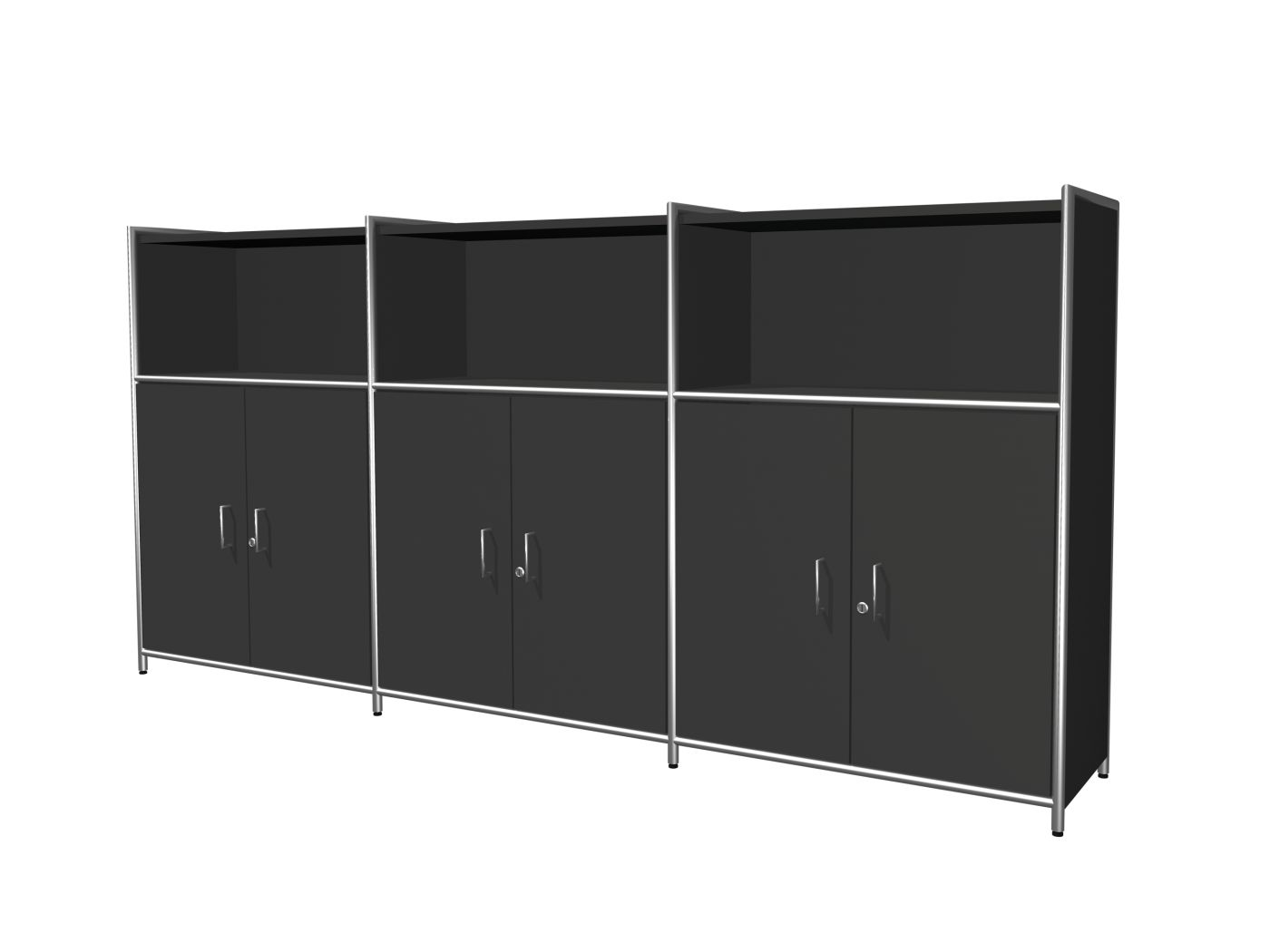 highboard mit 3 t ren 3oh klassiker direkt chefzimmer. Black Bedroom Furniture Sets. Home Design Ideas