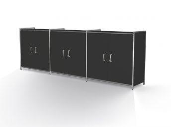 Sideboard mit 3 Türen