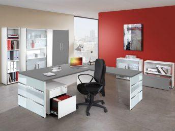 Winkel- Schreibtisch Siena