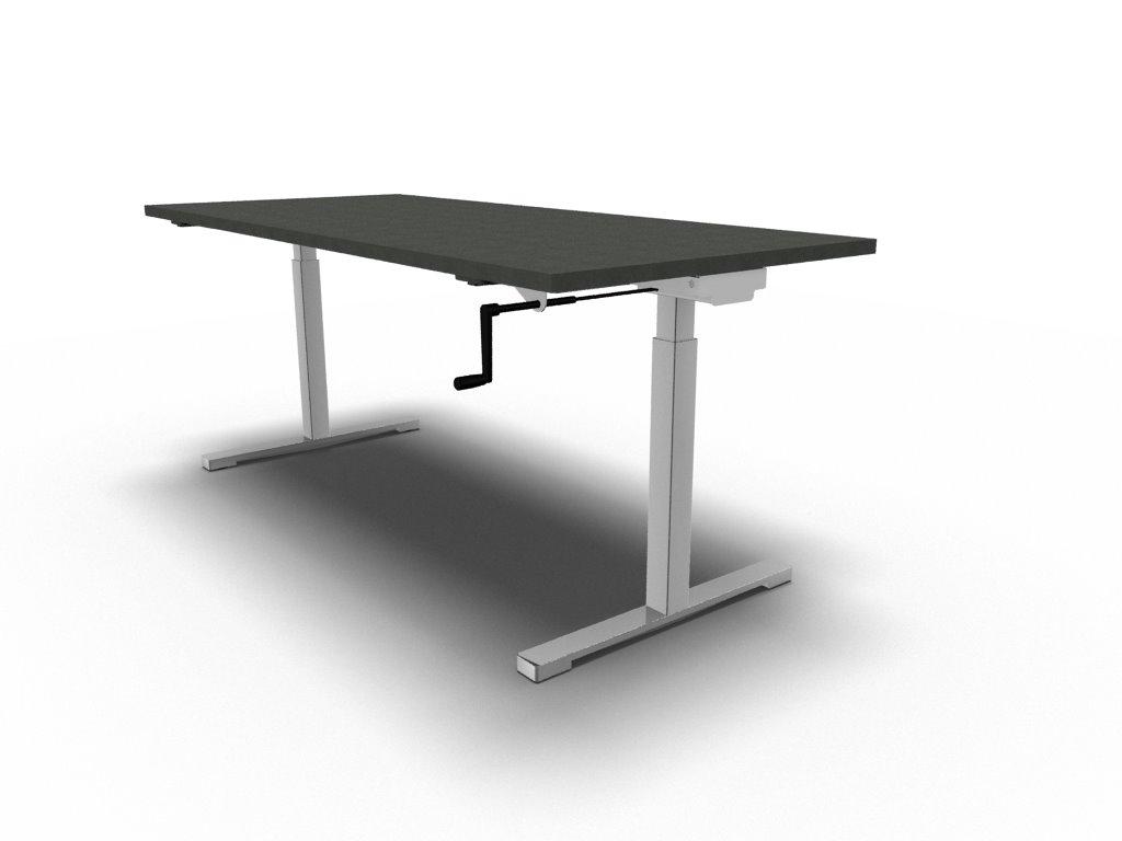 Schreibtisch per Kurbel h u00f6henverstellbar   Klassiker Direkt   Chefzimmer, B u00fcrom u00f6bel
