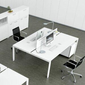 Schreibtisch für 2 Personen Glider