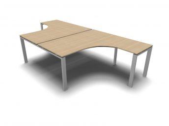 Eckschreibtisch für 2 personen  Serie Glider | Chefzimmer, Büromöbel, Design Büroeinrichtung