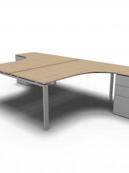 arbeitsplatz-2-personen-glider-eiche-aluminium