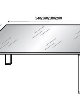 glider-glasschreibtisch