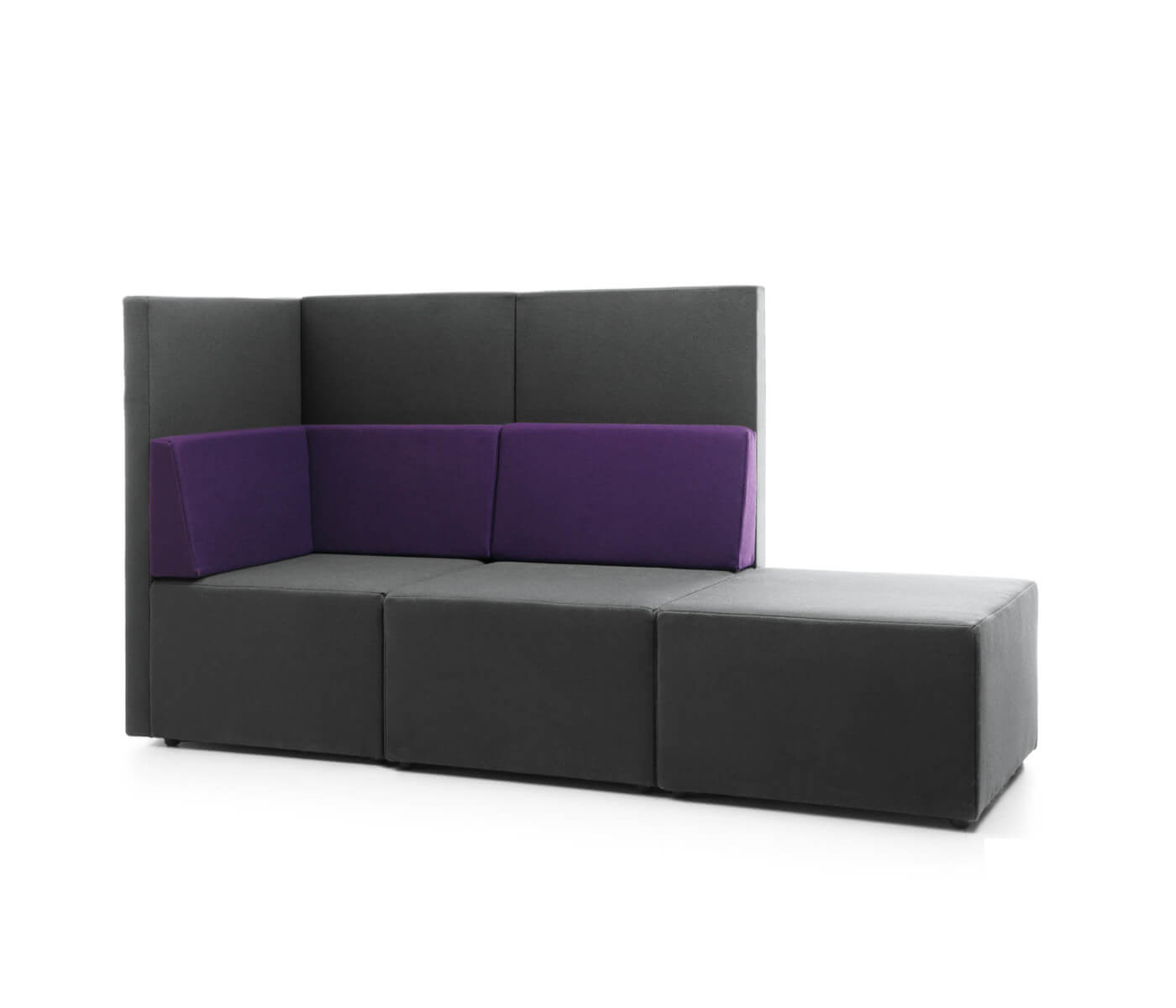 loungesofa mit hoher lehne moderne loungem bel b rom bel. Black Bedroom Furniture Sets. Home Design Ideas
