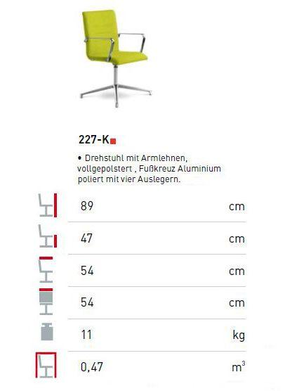 Konferenzstuhl oslo klassiker direkt chefzimmer for Design konferenzstuhl