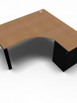 winkelschreibtisch-glider-mit-container-nussbaum-schwarz
