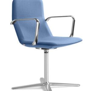 flexi-designkonferenzstuhl-fusskreuz-aluminium-poliert