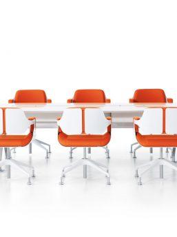 konferenzstuehle_101s_858s_gruppe_orange_beschichtet