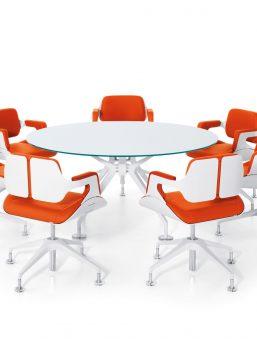 konferenzstuehle_101s_gruppe_orange_beschichtet