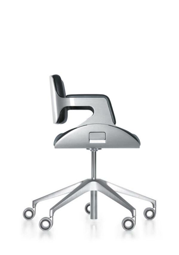 Konferenzstuhl-Silver-niederer-Rücken-2