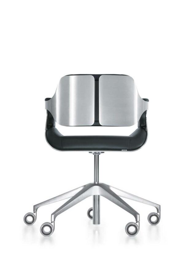 Konferenzstuhl-Silver-niederer-Rücken-3