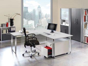Schreibtisch mit Anbautisch Palermo