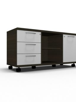 Rollcontainer_A120M_Wenge_weiss