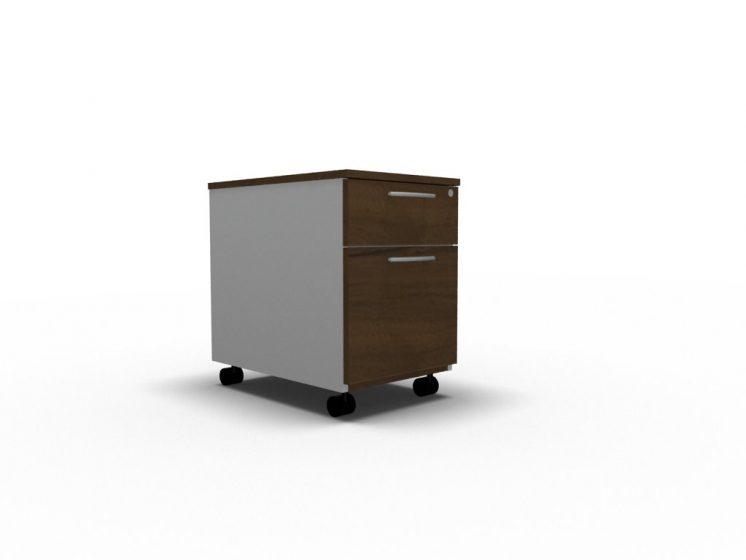 Rollcontainer_KDT_Nussbaum_aluminium