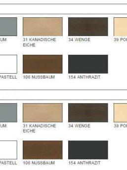 MDD Regale-Farben
