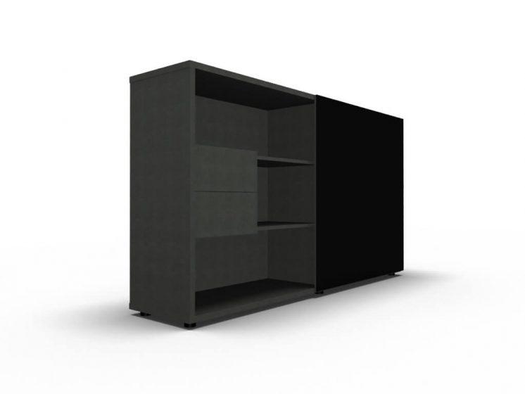 Bueroschrank-mit-Schiebetueren-ZS02-schwarz