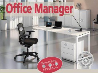 Büromöbel Kompettset