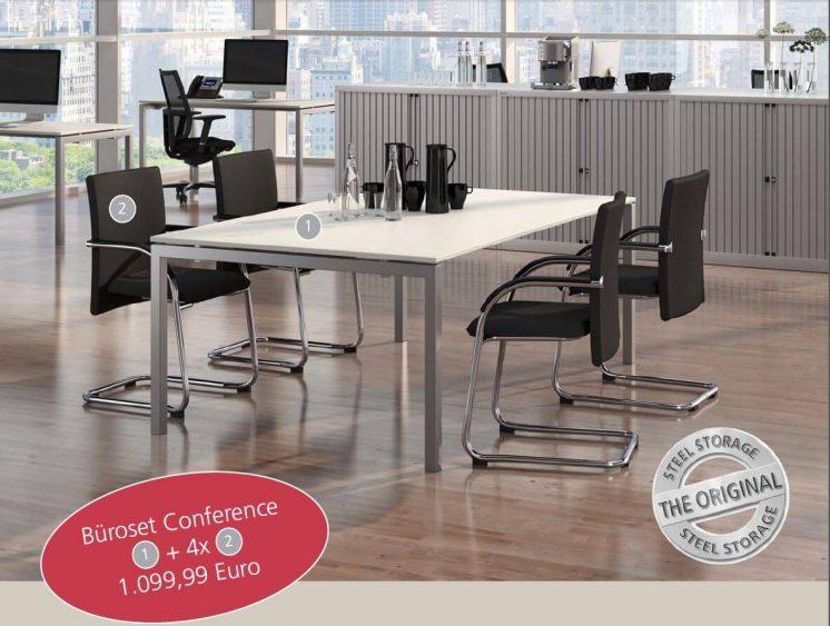 Büromöbel Konferenceset