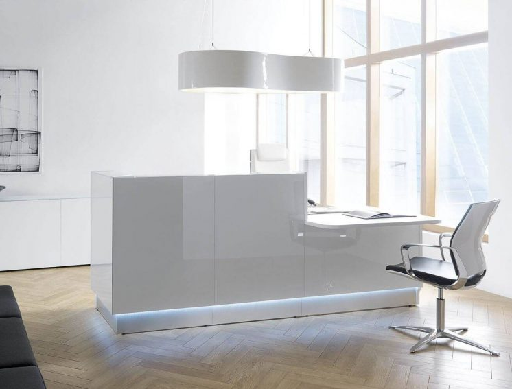 Designlampe Ellipse Empfangstheke Linea