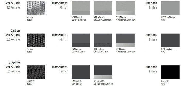 Farben Bürostuhl Aeron