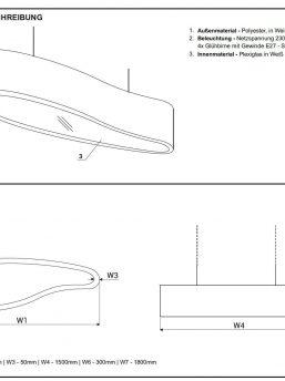 Lampe Ellipse Technische Beschreibung