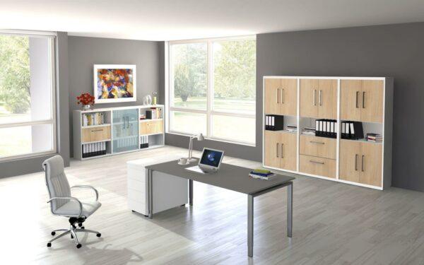 Höhenverstellbarer Schreibtisch Neapel Pro