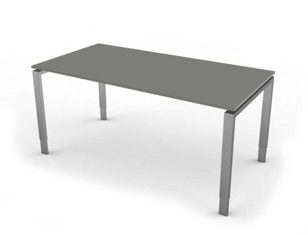 Schreibtisch Hoehenverstellbar NeapelPro grafit