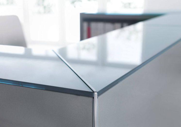 Empfangstheke-Deno-Oberplatte-Hartglas