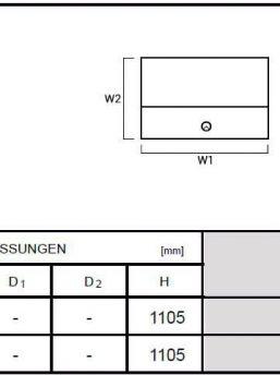 Abmessungen-Empfangstheken-LOG10G-LOG14G