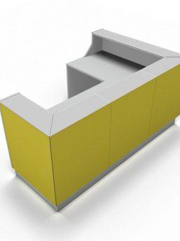Empfangstheke-Deno-LIN39-gelb