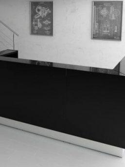 Empfangstheke-Deno-LIN39-schwarz