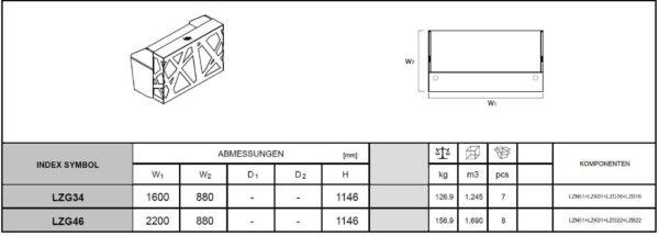 Empfangstheken-Rimini-LZG34-LZG46-Abmessungen