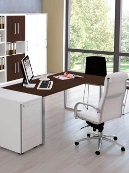 Schreibtisch-Neapel-Pro-hoehenverstellbar-mit Anbautisch