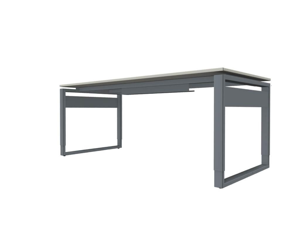 schreibtisch manuell h henverstellbar neapel pro b rom bel. Black Bedroom Furniture Sets. Home Design Ideas