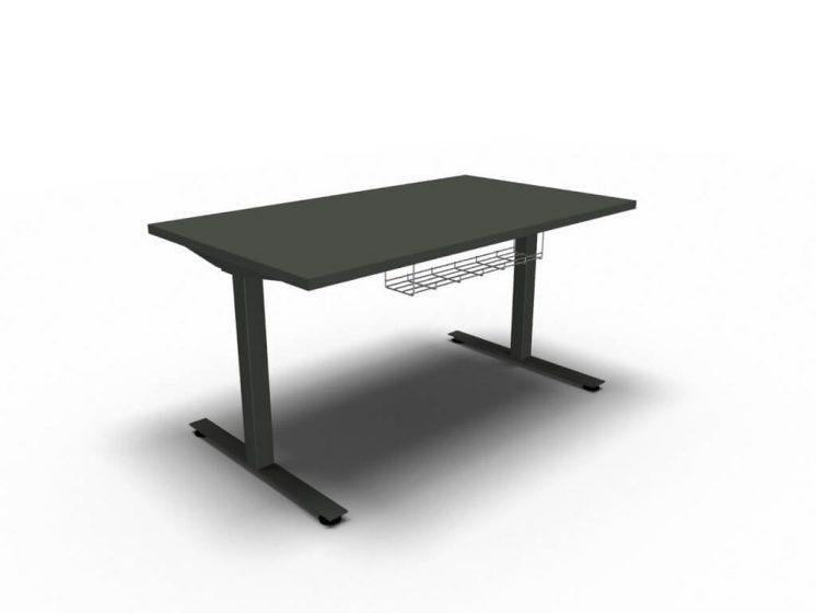 Schreibtisch-elektrisch-hoehenverstellbar-OGI-DRIVE-mit-Kabelkorb