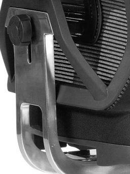 Netzdrehstuhl-MESH-4-Aluminium-Rückenverbinder