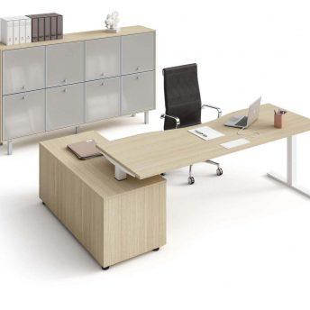 Schreibtisch-mit-Sideboard-Winglet