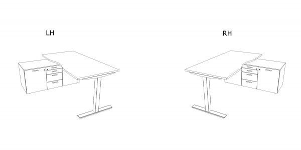 Schreibtisch-mit-Sideboard-Winglet-Ausrichtung