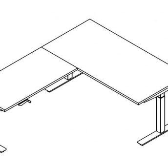 Winkelschreibtisch-Winglet-per-Kurbel-hoehenverstellbar