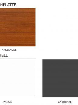 Chefschreibtisch-Cross-Farben