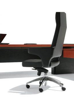 Schreibtisch-Cross-mit-Beistelltisch-Haselnuss-Anthrazit