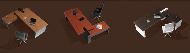 Schreibtisch-Cross-mit-Beistelltisch-verschiedene-Dekore