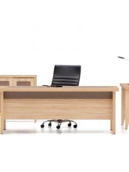 Schreibtisch-Gamma-Kunstleder
