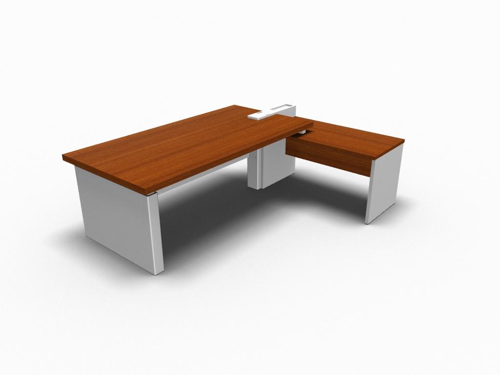Design Schreibtisch Cross Mit Beistelltisch Büromöbel