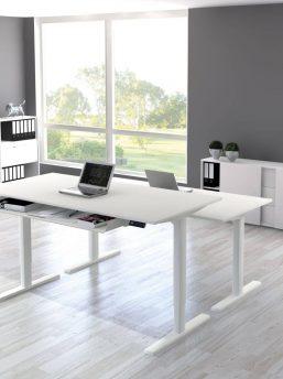 Schreibtisch-elektrisch-höhenverstellbar-Updown-Weiss-257x344