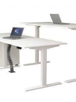 Schreibtisch-elektrisch-höhenverstellbar-Updown-mit-Anstellcontainer-257x344