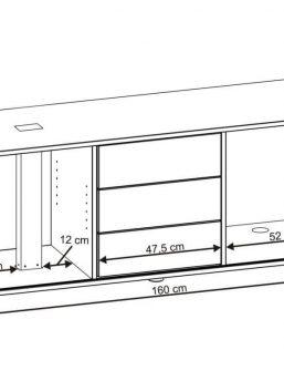 Sideboard-Abmessungen