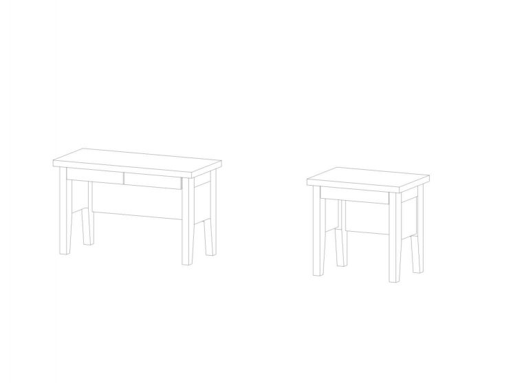 Beistelltisch-Gamma-120-2-Schubladen_80-1-Schublade